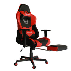 Kinsal  Gaming Chair with Footrest (RC-45 Red)