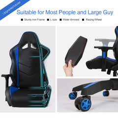 Kinsal Player gaming chair -(RC-03 Blue)
