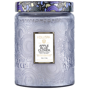 APPLE BLUE CLOVER VOLUSPA CANDLE