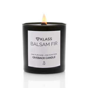 BALSAM FIR - GIVEBACK CANDLE