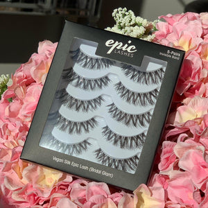 EPIC SILK VEGAN 5-PAIR LASHES (BRIDAL GLAM)