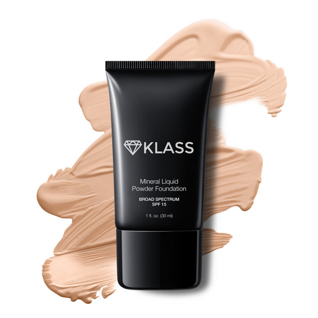 MINERAL LIQUID POWDER FOUNDATION SPF 15 1
