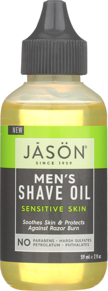 JASON: Shave Oil Mens Sensitive, 2 oz