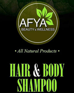 100% All Natural Body Silk™ Hair and Body Shampoo