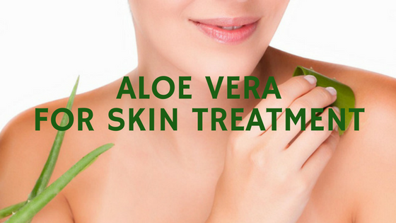 Aloe Vera for Skin Treatment