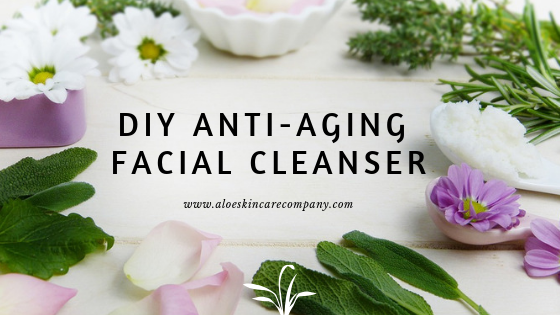 DIY Anti-Aging Facial Cleanser