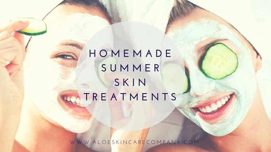 Homemade Summer Skin Treatments