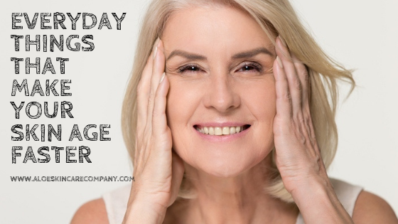 Everyday Things That Make Your Skin Age Faster