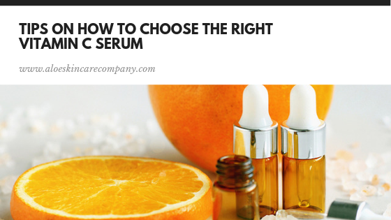 Tips on How to Choose the right Vitamin C Serum
