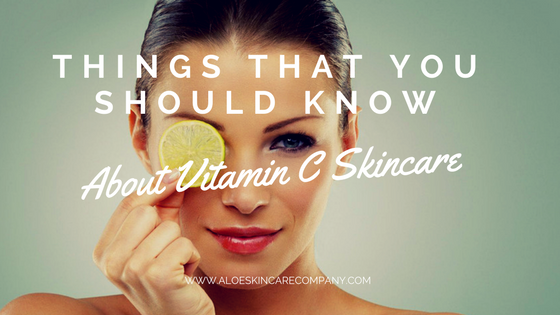 Things That You Should Know About Vitamin C Skincare