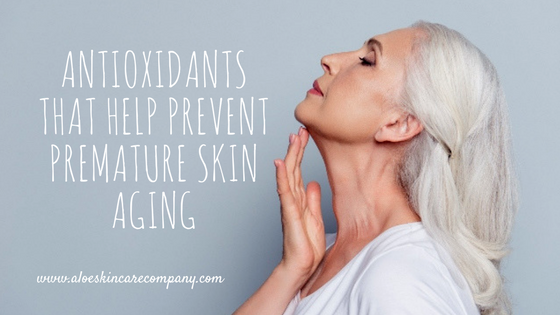 Antioxidants That Help Prevent Premature Skin Aging