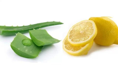 Skin Whitening Aloe and Lemon