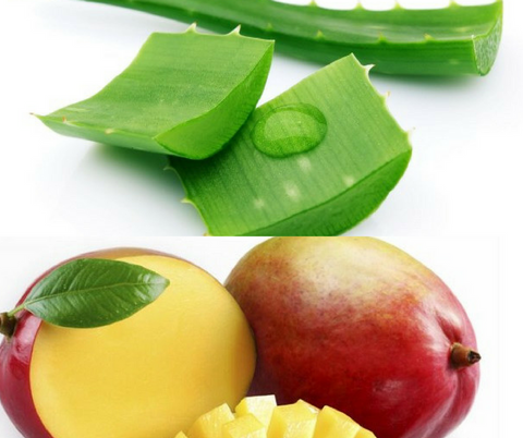 Skin Whitening Aloe and Mango