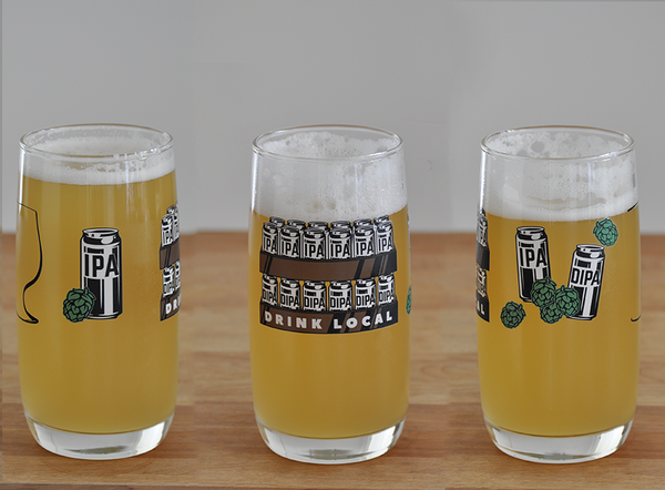 Best IPA Beer Glass and Best IPA Lover Beer Glass