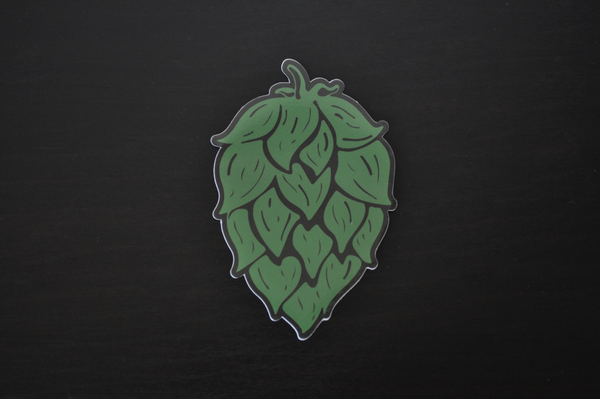 Big Hop Die Cut Craft Beer Vinyl Sticker