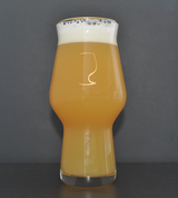 Silhouette Series IPA Glass Set | Gold & White IPA Glasses | Proper Beer Glassware | 17oz