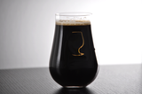 Motor Oil Imperial Stout Glass | Pastry Stout Beer Glass | 14oz