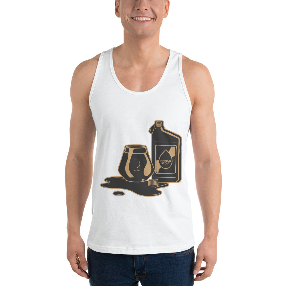 Motor Oil Imperial Stout Beer Tank Tops | Craft Beer Shirts