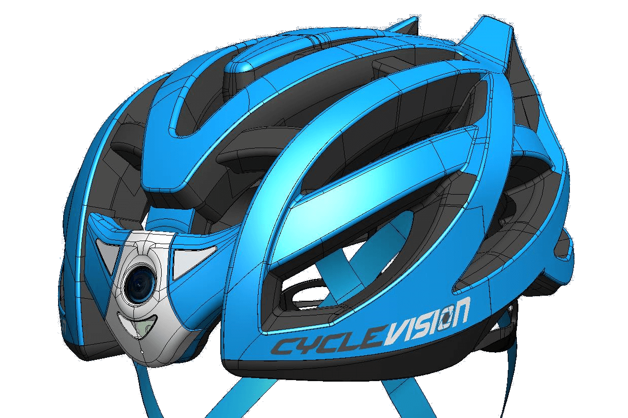 Cyclevision Helmet