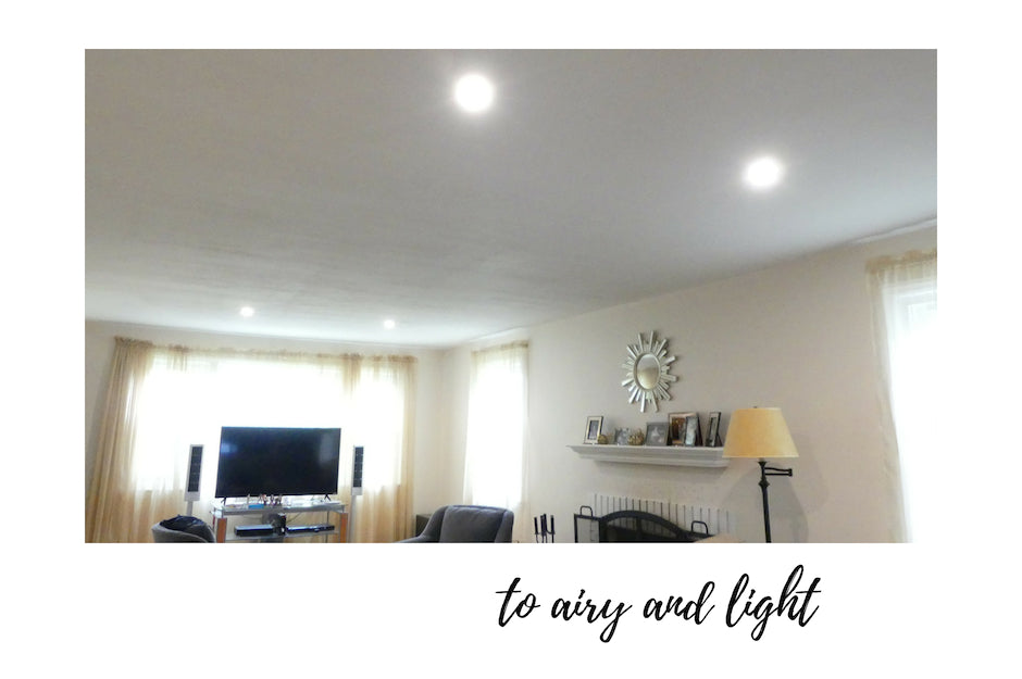 Living room recessed lights