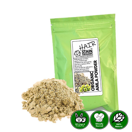 Organic Rajasthani Amla Powder for Hair