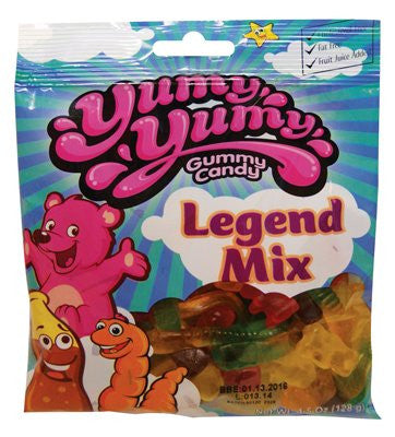 YUMY YUMY Gummy Candy - Legend Mix Candy