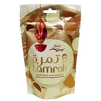 Tamrah Milk Chocolate Covered Dates 80 grams