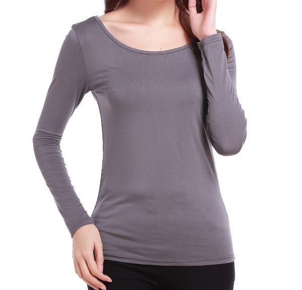 Basic Top - Grey