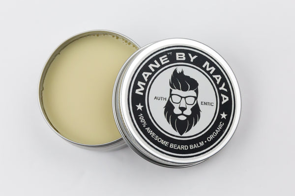 Men's Beard Balm: Unscented (All Natural and Organic)
