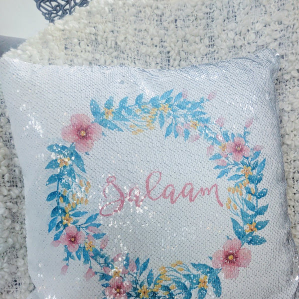 Sequin Pillow Salaam