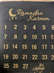 Ramadan Advent Calendar - Black