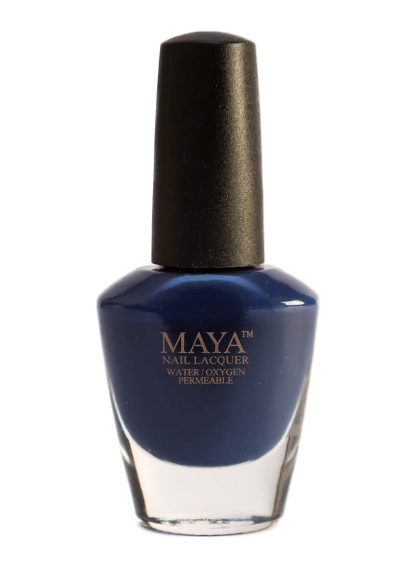 Midnight Blues-Halal breathable vegan nail polish