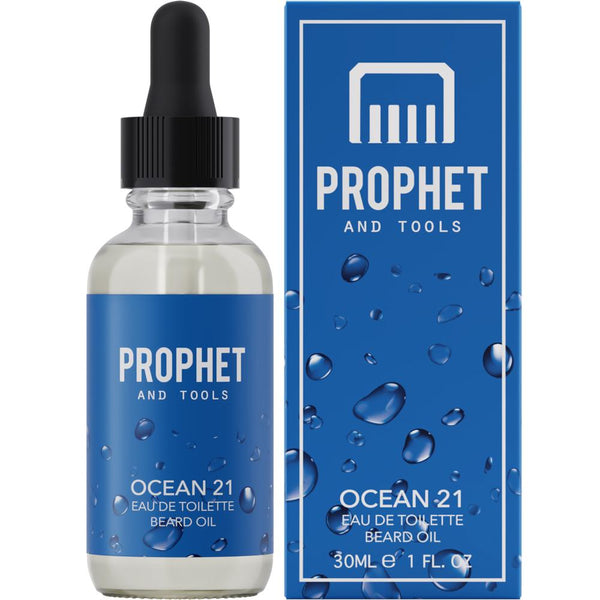 Ocean 21 Eau De Toilette Beard Oil