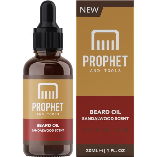 Sandalwood Scent Beard Oil - 30ML