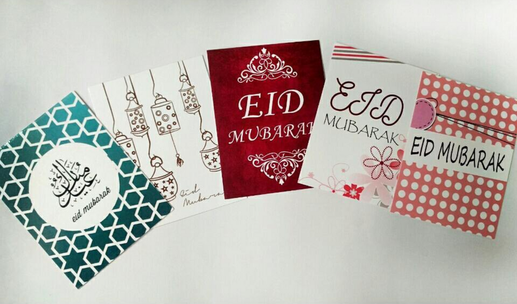 Eid Greeting Card 5 Pack