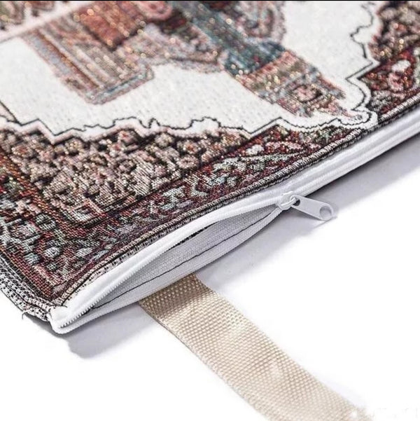 Portable Prayer Mat with Carrying Bag
