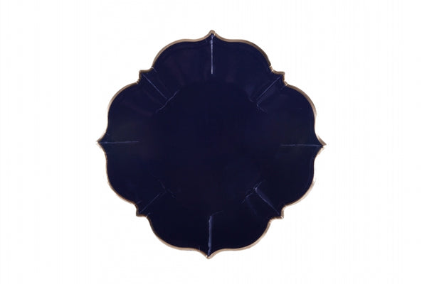 Marrakesh Navy Blue Lunch Plates