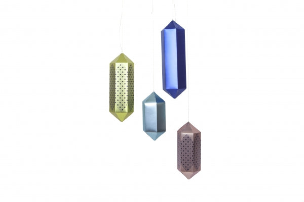 Geometric Hanging Lanterns