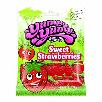 YUMY YUMY Gummy Candy - Sweet Strawberry