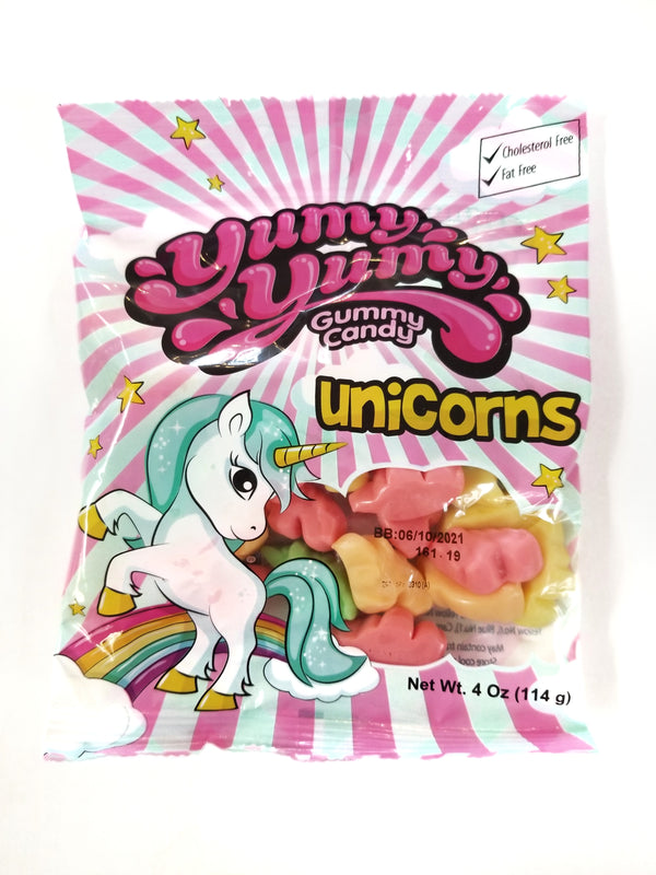 YUMY YUMY Gummy Candy - Unicorns Gummy Candy