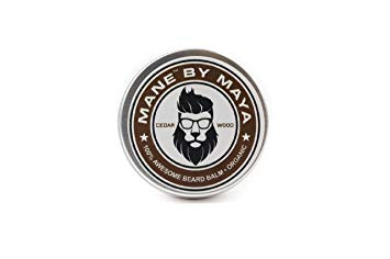 Men's Beard Balm: Cedar Wood (All Natural and Organic)