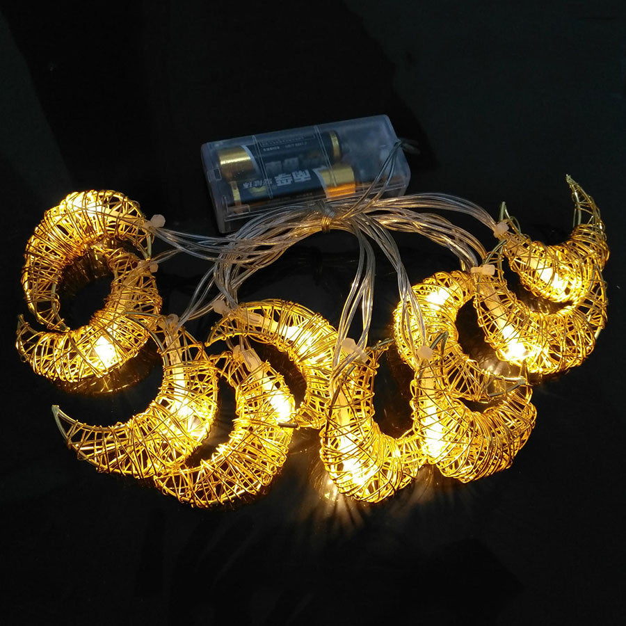 Crescent String Lights