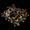 Star Shaped Acrylic LED String Lights