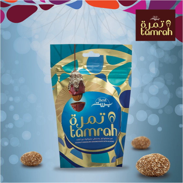 Tamrah Coconut and Chocolate Covered Dates 80 grams