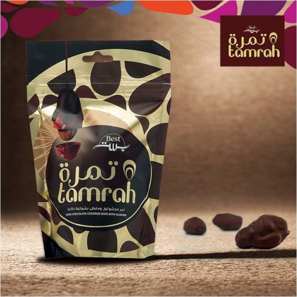Tamrah Dark Chocolate Covered Dates 80 grams