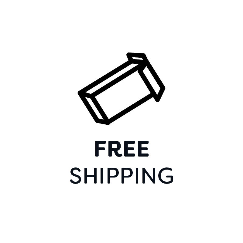 A shipping box icon