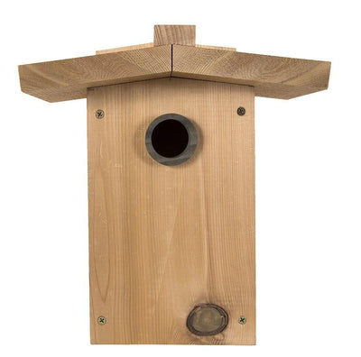 Western red ceder songbird house