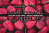 fruits and vanilla lip balm kit