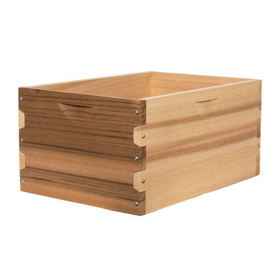 Western red cedar deep hive box