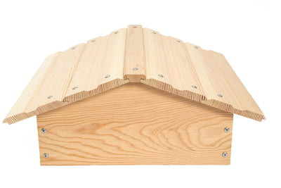 Douglas fir Warre roof